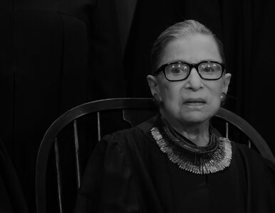 Nie żyje ikona amerykańskiego sądownictwa Ruth Bader Ginsburg. Miała 87 lat