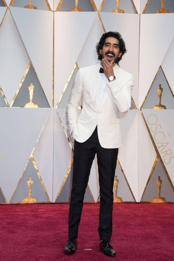 Dev Patel podczas 89. ceremonii rozdania Oscarów w 2017 roku