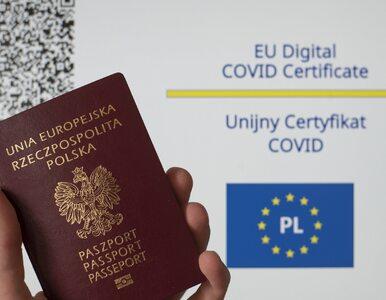 Unijny Certyfikat COVID ważny tylko przez określony czas. Podano terminy
