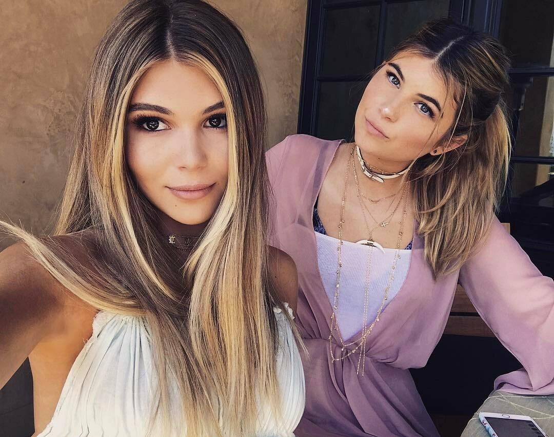 Olivia Jade i Isabella Rose