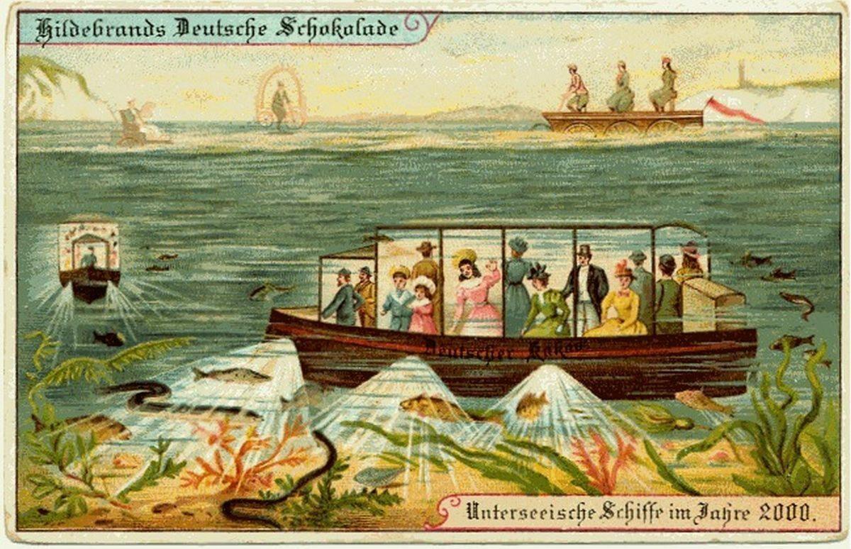 Turystyczne łodzie podwodne