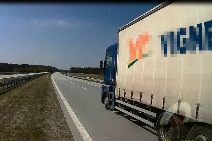 Pijany kierowca ciężarówki miał prawie 6 promili wekrwi