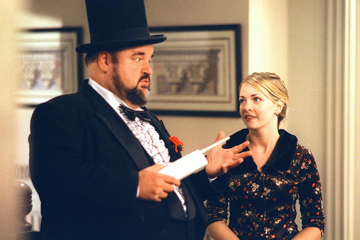 "Melissa Joan Hart jako Sabrina w serialu ""Sabrina, nastoletnia czarownica"""