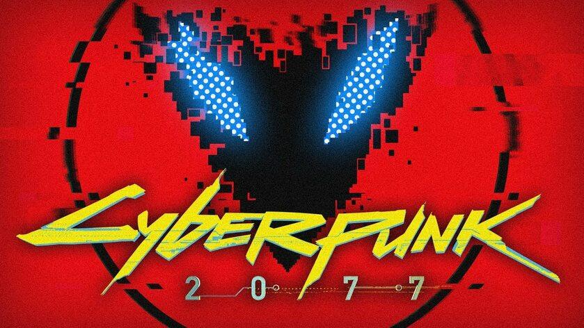 Grafika promująca jedną ze składanek inspirowanych Cyberpunkiem 2077
