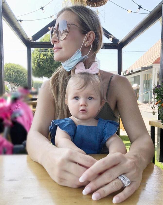 Joanna Krupa i jej córka Asha-Leigh Nunes