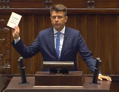 """Ryszard Petru dostał karę. """"Powinien znać regulamin Sejmu"""""""