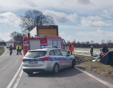 Tragiczny wypadek na Mazowszu. Zginęło dwoje dzieci