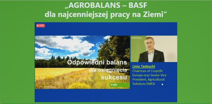 Konferencja online BASF, 8 kwietnia 2021