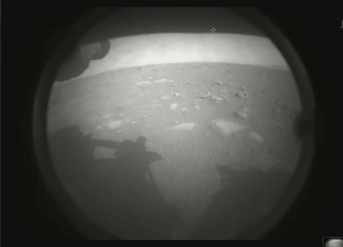 Pierwsze zdjęcia łazika Perseverance z Marsa - 18 lutego 2021