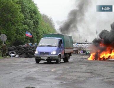 Ukraińscy żołnierze przejmują posterunki separatystów