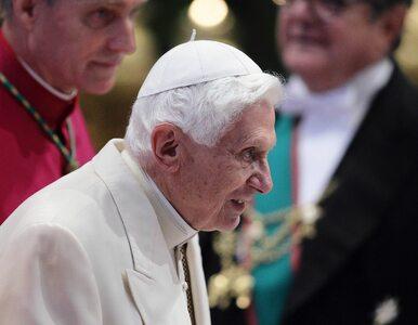 """Benedykt XVI zabrał głos ws. celibatu. """"Nie wydaje się możliwe..."""