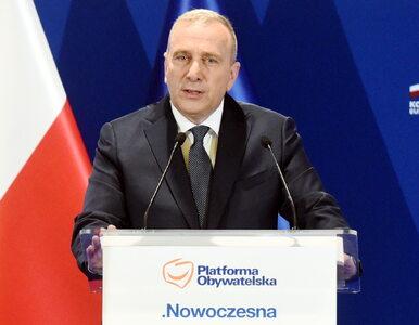 """Schetyna ogłosił """"jedynki"""" na listach Koalicji Obywatelskiej w wyborach..."""