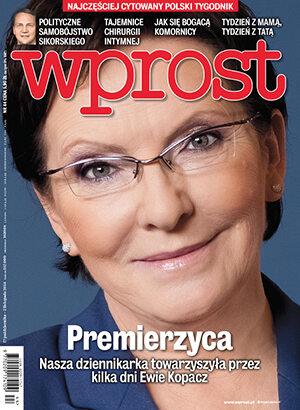 Okładka tygodnika Wprost nr 44/2014 (1652)