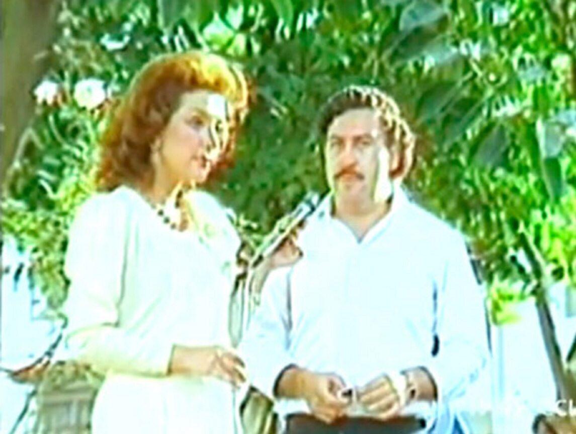 Virginia Vallejo i Pablo Escobar w 1983 roku
