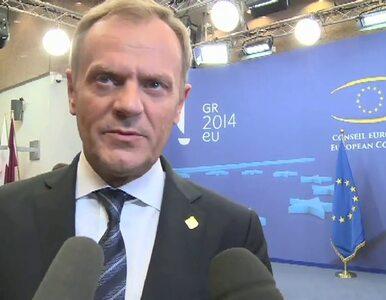 Tusk: Pierwszy raz w historii władze UE i Ukraina wspólnie ustalały...