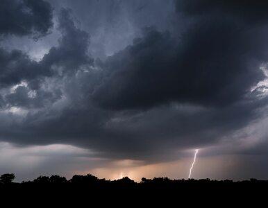 W piątek burze z ulewnym deszczem. Kolejne dni przyniosą spokojniejszą...