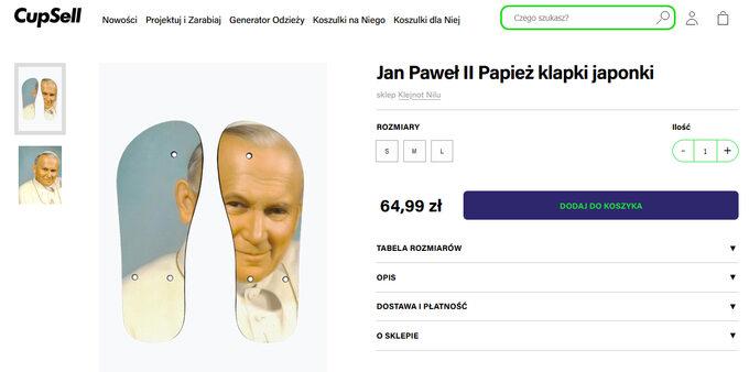 Japonki zwizerunkiem Jana Pawła II