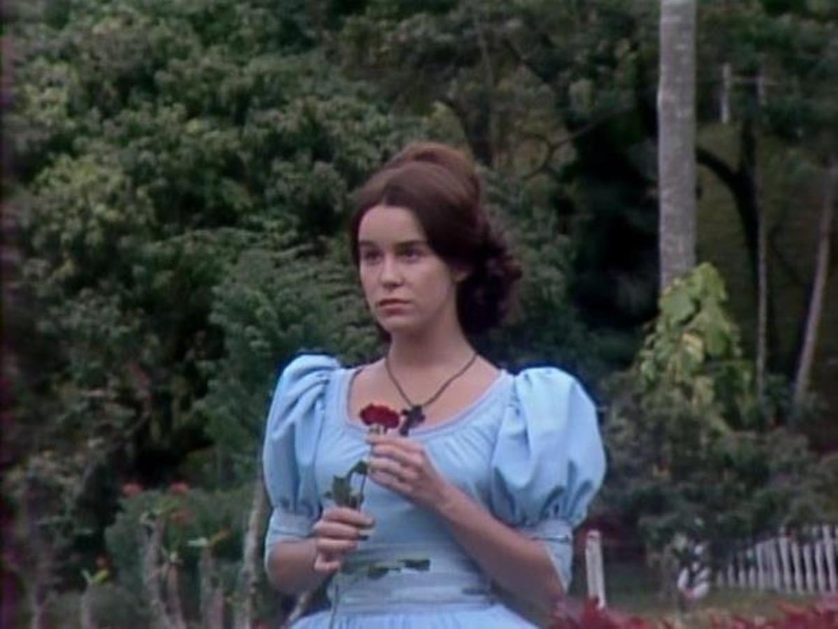 """Lucelia Santos w serialu """"Niewolnica Isaura"""" (1976)"""