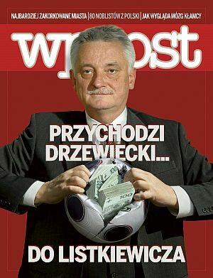 Okładka tygodnika Wprost nr 41/2008 (1346)