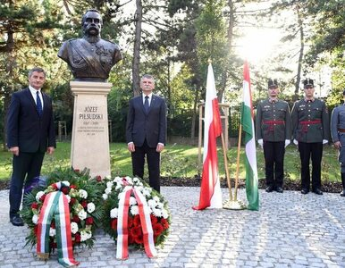 W Budapeszcie stanęło popiersie Józefa Piłsudskiego