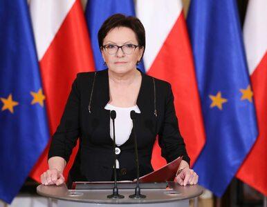 Kancelaria Premiera opublikowała wykaz lotów Ewy Kopacz. Ile podróży...