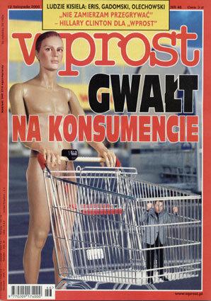 Okładka tygodnika Wprost nr 46/2000 (937)