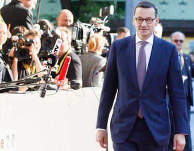 Premier Morawiecki: Polska zdecydowanie nie przyjmie żadnych uchodźców