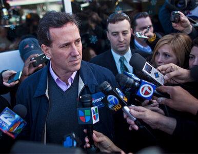 Religijna prawica: niech z Obamą walczy Santorum