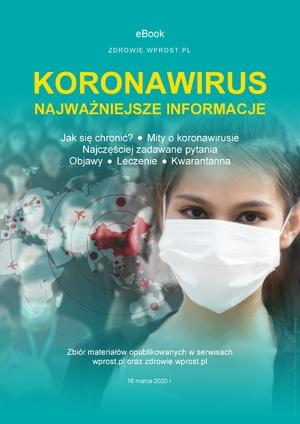 """Ebook: """"Koronawirus. Najważniejsze informacje"""""""