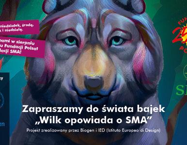 """""""Wilk opowiada o SMA"""" – znani i lubiani czytają bajki dla dzieci"""