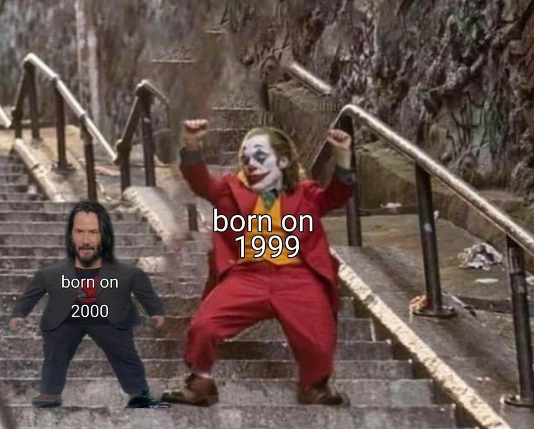 """Memiczne schody z filmu """"Joker"""""""