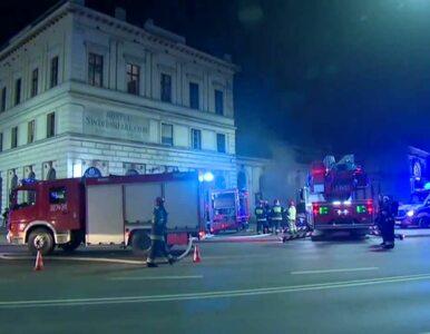 Wrocław. Pożar w budynku Dworca Swiebodzkiego. Jedna osoba nie żyje,...