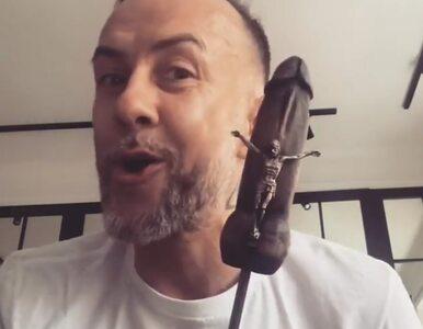 Nergal zaśpiewał piosenkę i machał sztucznym penisem z ukrzyżowanym...