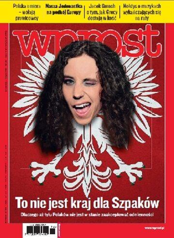 Okładka tygodnika Wprost nr 26/2011 (1481)