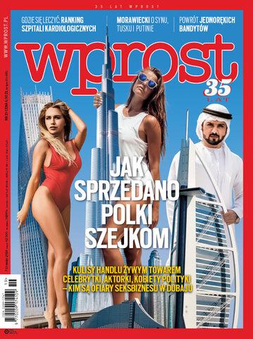 Okładka tygodnika Wprost nr 19/2018 (1834)