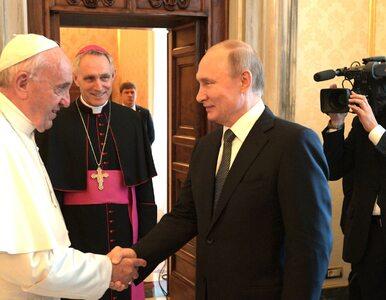 Papież spotkał się z Putinem. Prezydent Rosji po raz kolejny nie był...
