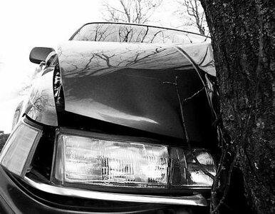 """Tragedia na krajowej """"45"""". Kierowca zginął na miejscu"""