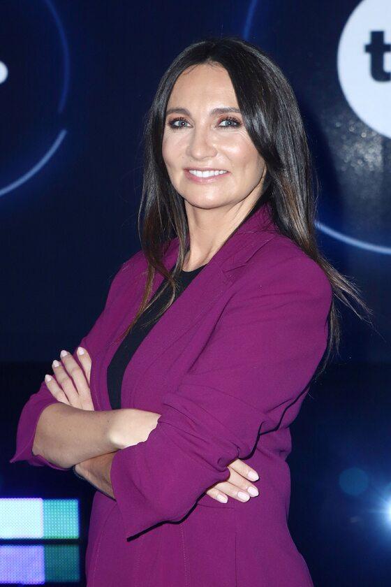 Dominika Kulczyk w 2020 roku podczas prezentacji ramówki TVN