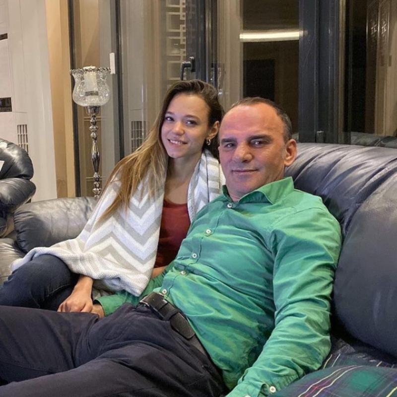 Christina Ozturk z mężem Galipem Ozturkiem
