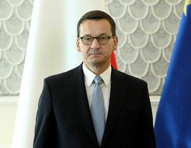 """Premier Morawiecki skrytykował """"Fakty"""" TVN. Chodzi o materiał z Betą..."""