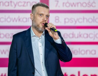 Zandberg ironicznie o Trzaskowskim: To wspaniale, że jest bezpartyjnym...