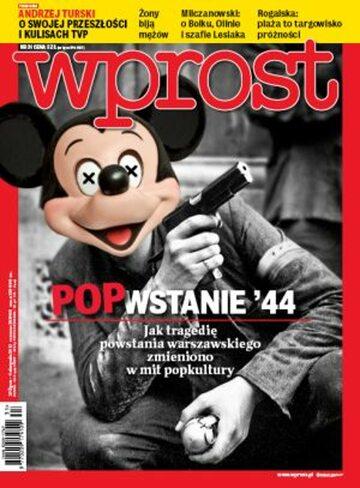 Okładka tygodnika Wprost nr 31/2013 (1588)