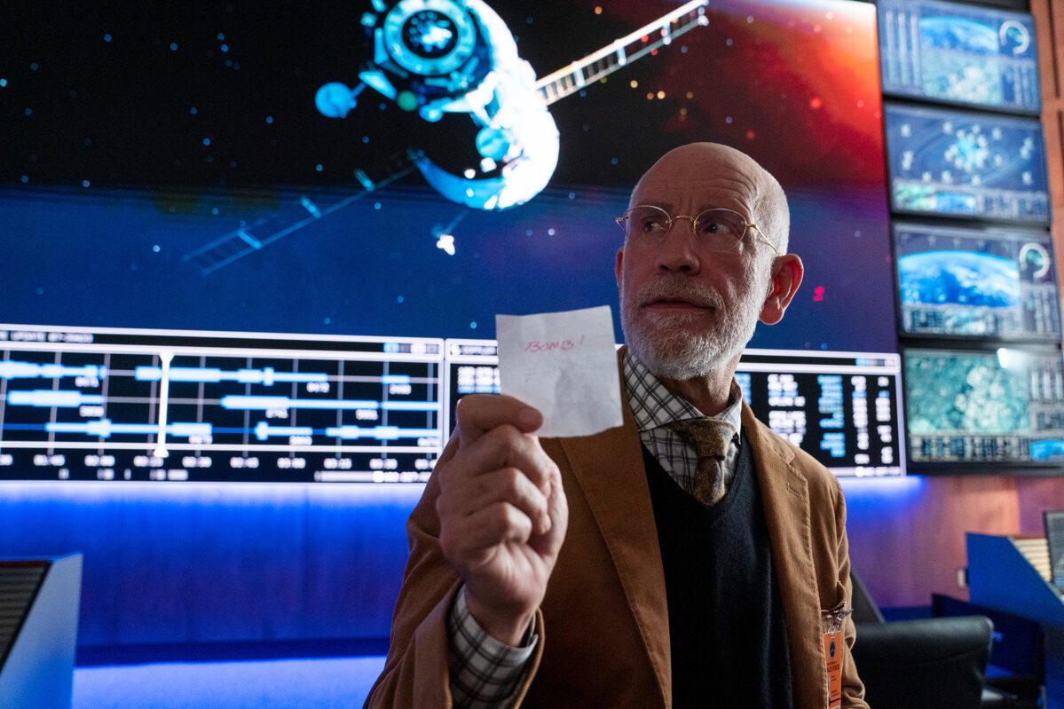 """Kadr z serialu """"Siły kosmiczne"""""""