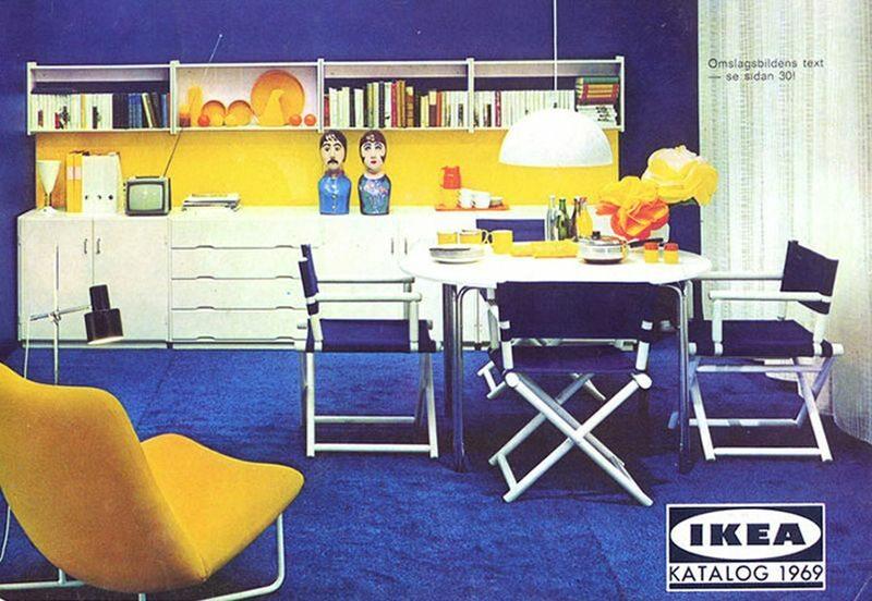 Okładka katalogu IKEA z 1969 roku