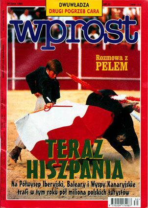 Okładka tygodnika Wprost nr 30/1998 (817)