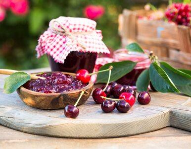 Dżem z wiśni zawiera witaminy A, E, K PP. Jak go zrobić? Przepis