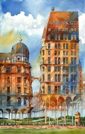 Surrealistyczna Warszawa jest piękna!