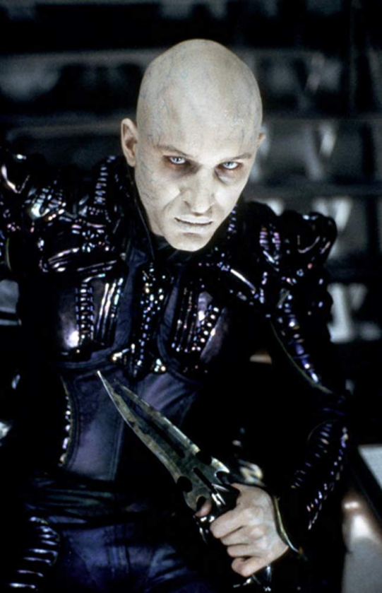 "Tom Hardy w ""Star Trek: Nemesis"" (2002)"