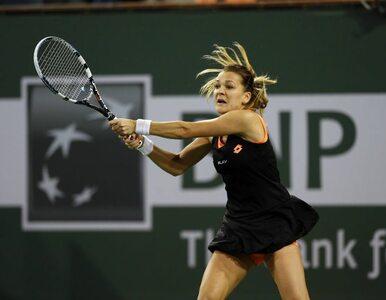 WTA Indian Wells: Kontuzjowana Radwańska przegrała w finale