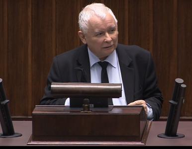 Kaczyński do opozycji w Sejmie: Macie krew na rękach! Nie powinno was...